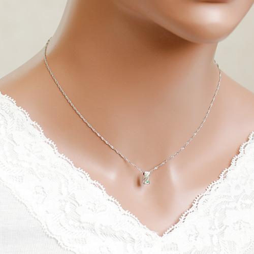 遺骨密封ペンダント(樹脂密封タイプ) ディアリーSN-07プラチナペンダント[刻印付き][ダイヤモンド又は誕生石] 完全防水 遺骨アクセサリー