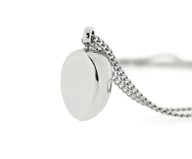 遺骨ペンダント(自身封入タイプ) ステンレスペンダント MST006 遺骨の宝石