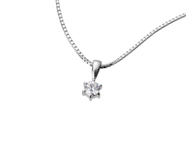 【ご遺骨から作るダイヤモンド0.25ct~(ダイヤ5色から選択)】ペンダントDP001プラチナ950 遺骨ペンダント