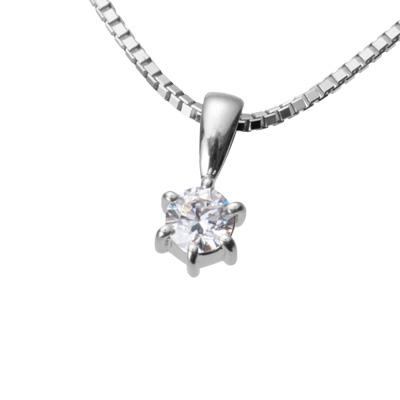 【ご遺骨から作るダイヤモンド0.25ct~(ダイヤ5色から選択)】ペンダントDP001プラチナ950 遺骨アクセサリー