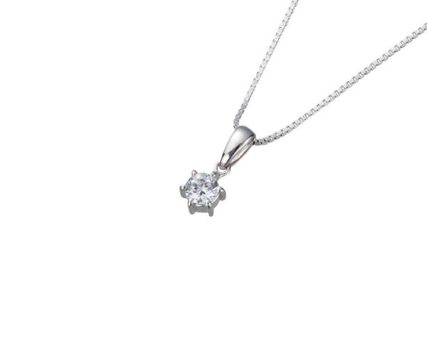 【ご遺骨から作るダイヤモンド0.25ct~(ダイヤ5色から選択)】ペンダントDP003プラチナ950 遺骨ペンダント