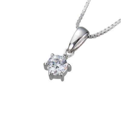 【ご遺骨から作るダイヤモンド0.25ct~(ダイヤ5色から選択)】ペンダントDP003プラチナ950 遺骨アクセサリー