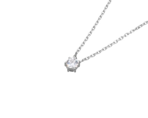 【ご遺骨から作るダイヤモンド0.25ct~(ダイヤ5色から選択)】ペンダントDP004プラチナ950 遺骨ペンダント