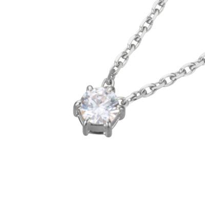 【ご遺骨から作るダイヤモンド0.25ct~(ダイヤ5色から選択)】ペンダントDP004プラチナ950 遺骨アクセサリー
