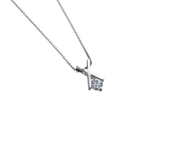 【ご遺骨から作るダイヤモンド0.25ct~(ダイヤ5色から選択)】ペンダントDP009プラチナ950 遺骨ペンダント